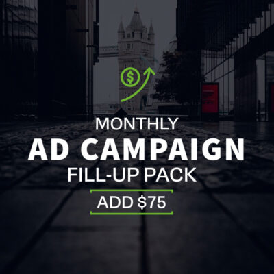 Monthy Ad Campaign - $75 Fill-up Pack | Echelon Local