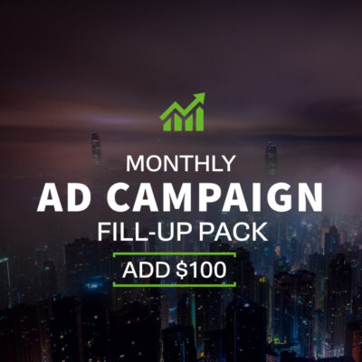 Monthy Ad Campaign - $100 Fill-up Pack | Echelon Local