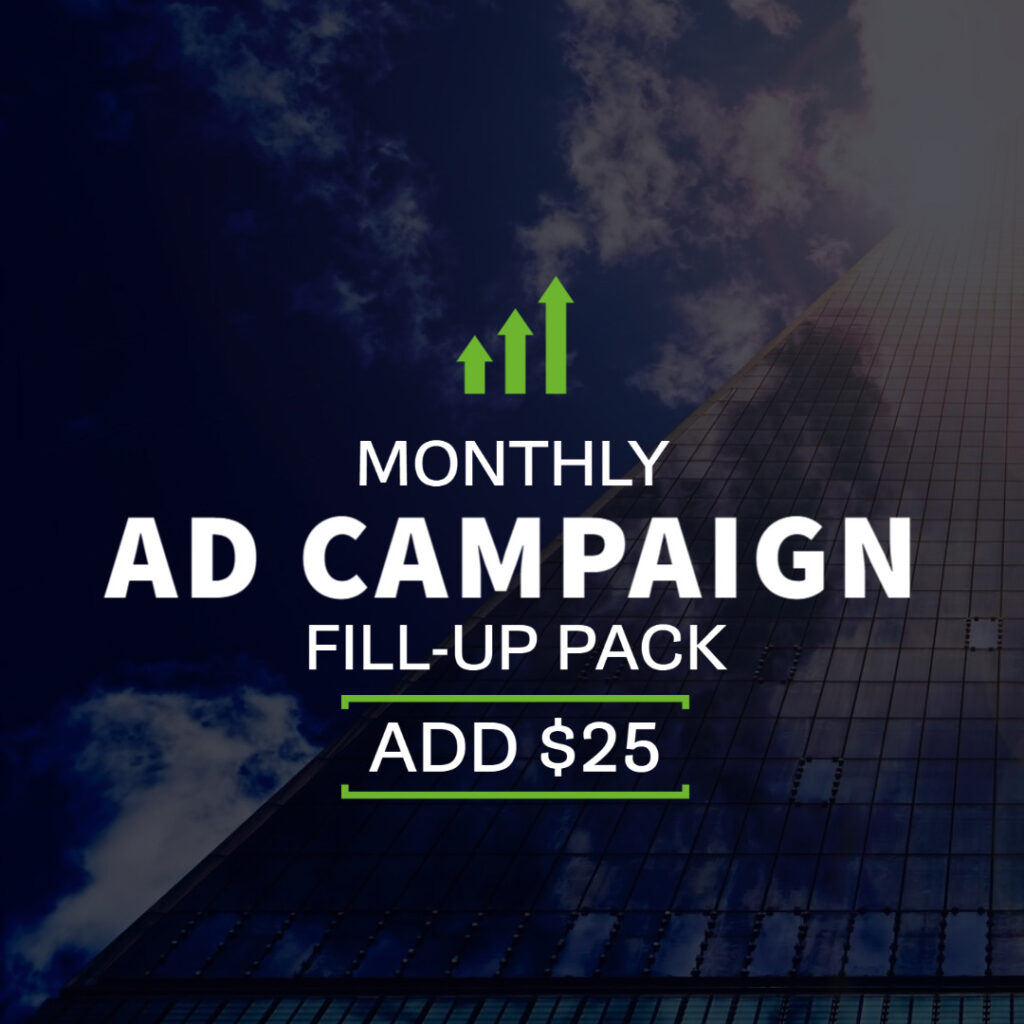 Monthy Ad Campaign - $25 Fill-up Pack | Echelon Local