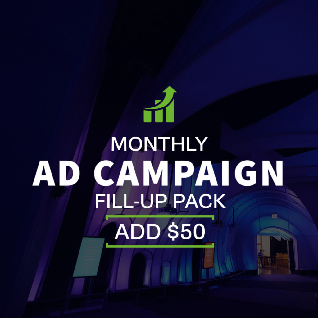 Monthy Ad Campaign - $50 Fill-up Pack | Echelon Local