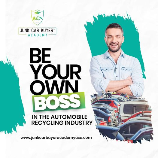 Junk Car Buyer Academy USA on Echelon Local | Automobile Recycling Curriculum | Be Your Own Boss! Become a successful Junk Car Buyer with our eLearning resources!